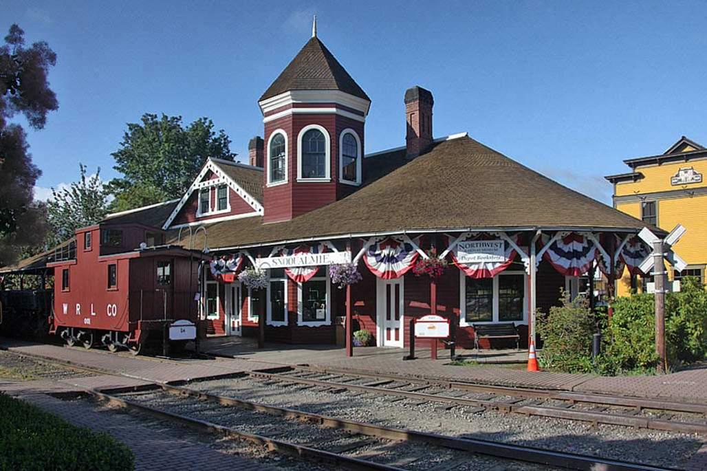Downtown Snoqualmie Train Museum
