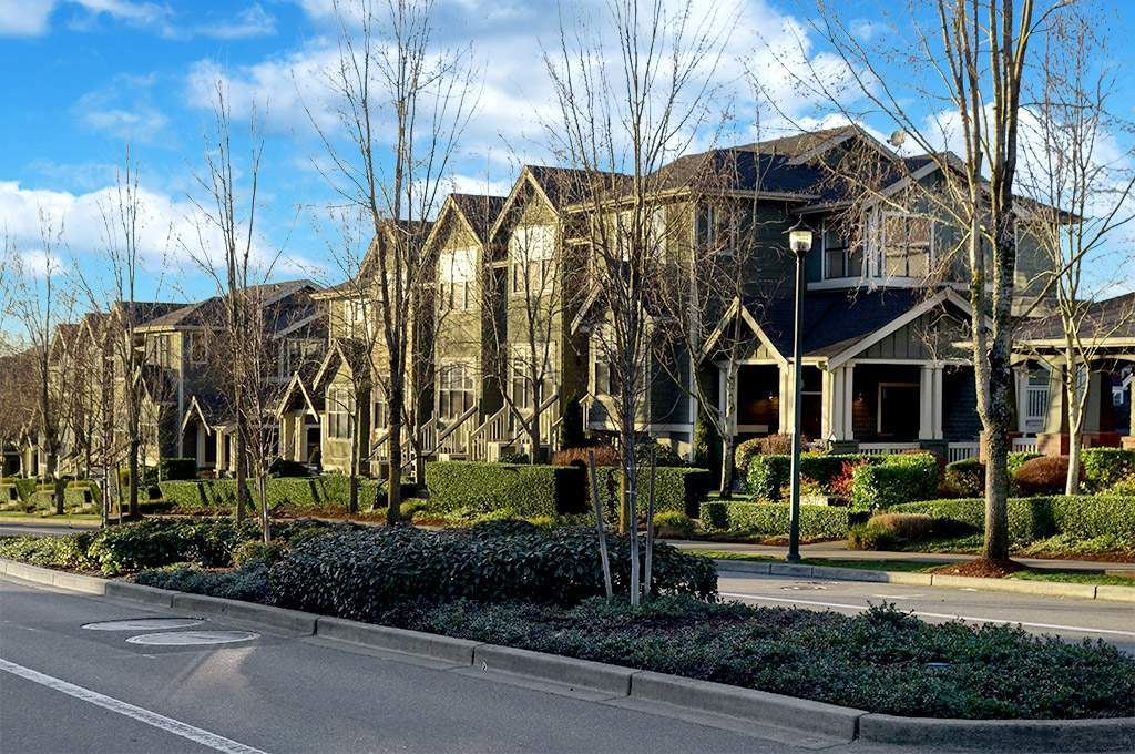 One of many Issaquah Highland luxury townhomes.