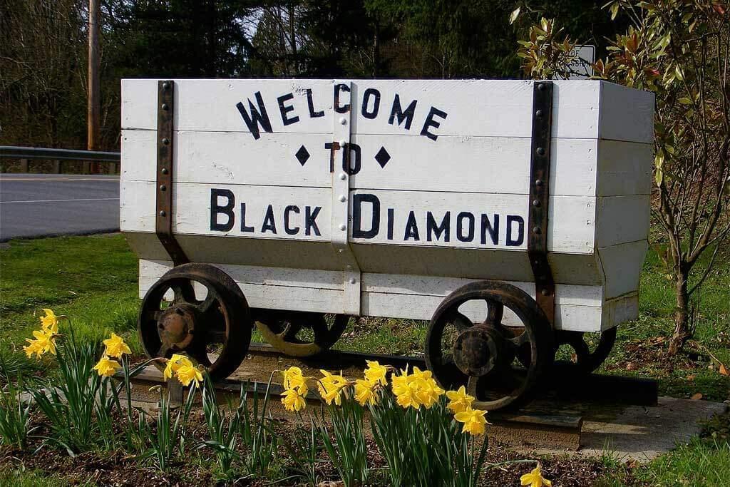 Black Diamond Mining Cart