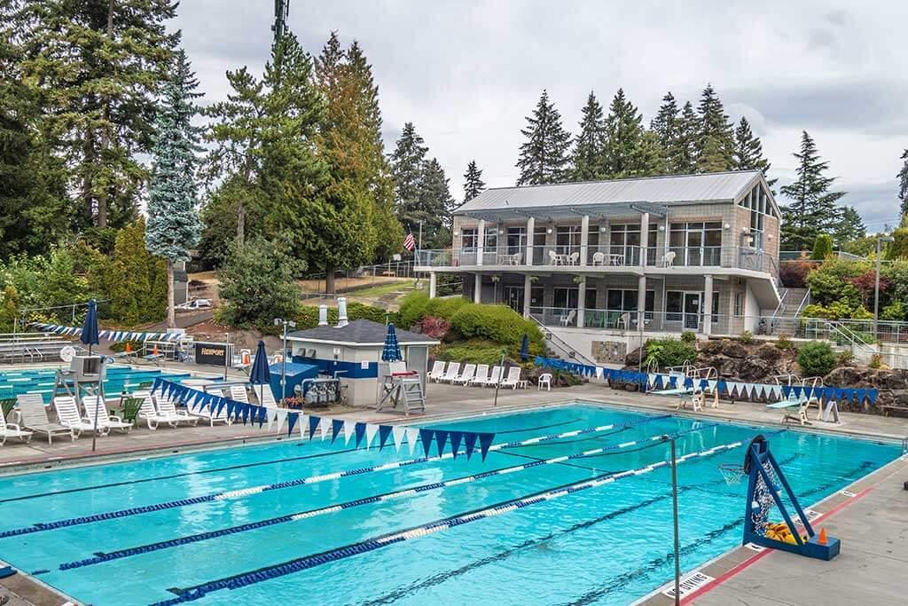 Newport Swim Club Pool